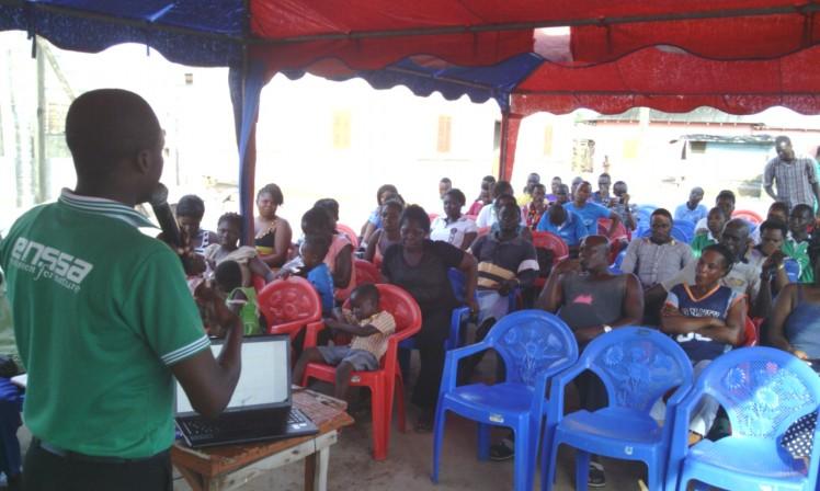 ENSSA made Impact in Teteren-Elmina